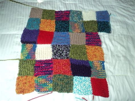 knit quilt knitted quilt 183 how to stitch a knit or crochet blanket