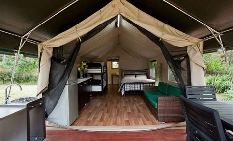 White Kitchen Island With Natural Top the ten best glamping spots near sydney concrete