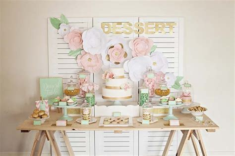 How To: Style a Dessert Table   Modern Wedding