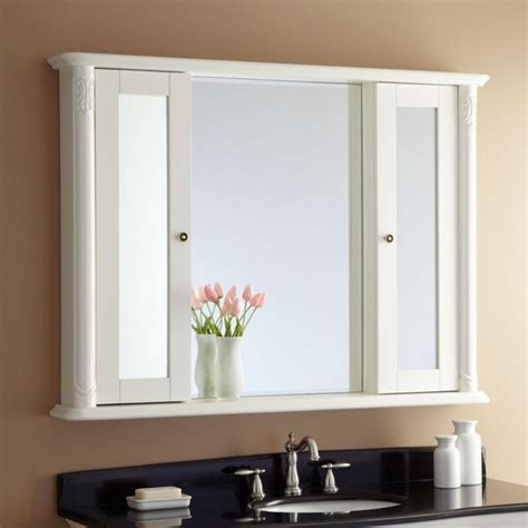 bathroom mirror storage bathroom mirror frames ideas 3 major ways we bet you didn