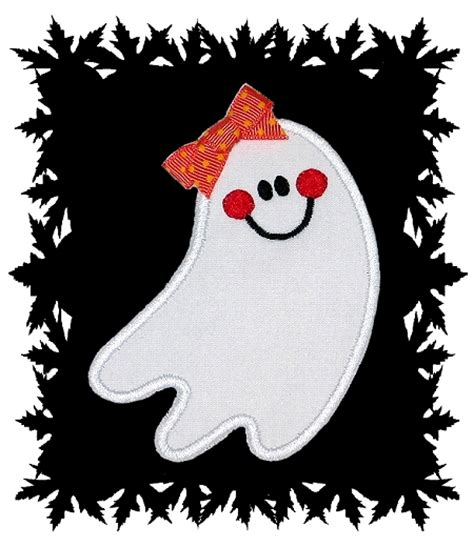 ghost designs happy ghost applique gg designs embroidery cliparts co