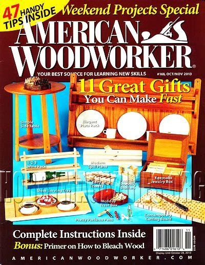 american woodworker magazine back issues american woodworker 168 october november 2013 187 hobby