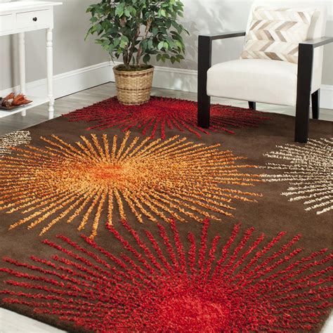 orange and brown orange and brown area rug best decor things