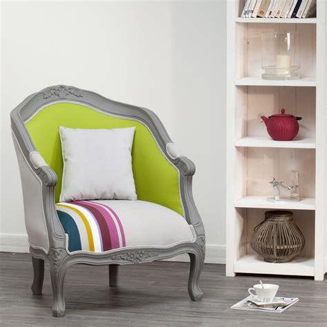 fauteuil cabriolet tissu style baroque contour bois hugo mathilde et pauline port offert deco