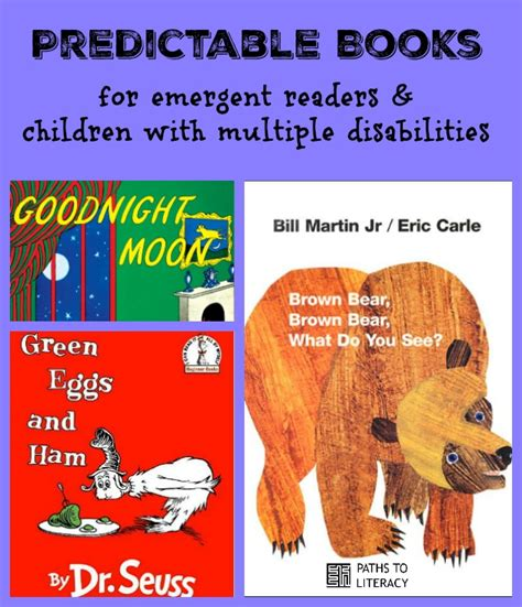 Predictable Books For Students With Disabilities