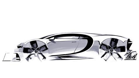 Bugatti Chiron Designer by Bugatti Chiron 2016 Supercar Sketches