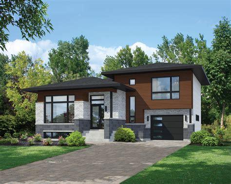 split level home designs split level contemporary house plan 80789pm architectural designs house plans
