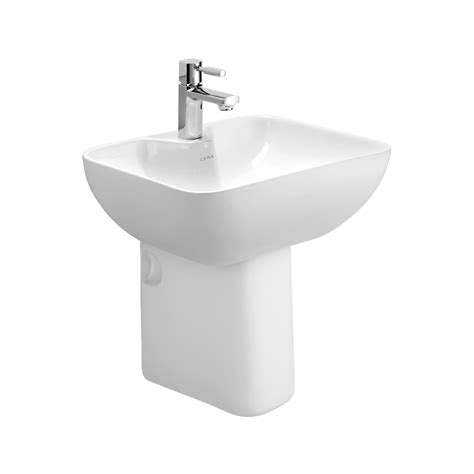 Ceiling Material Estimator by Buy Cera Chino 1219 Wash Basin 1104 Half Pedestal At Best