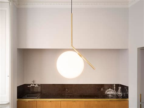 flos pendant lights flos ic s2 suspension light eames lighting