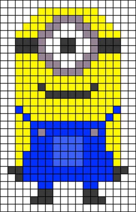 minion bead pattern minion perler bead patterns u create
