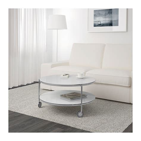 ikea strind coffee table strind coffee table white nickel plated 75 cm ikea