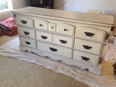 diy chalk paint and glaze my furniture redo i used diy chalk paint valspar
