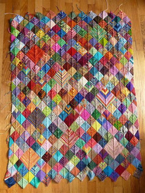 knitting patterns using leftover yarn sock yarn scraps blanket my favorite so far i guess i