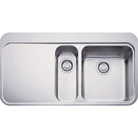 homebase kitchen sinks franke sinos 251 stainless steel kitchen sink 1 5 bowl