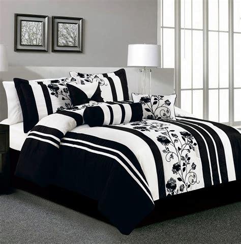 black and white comforter sets king king rianna black and white comforter set