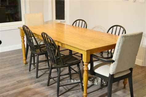 chalkboard paint kitchen table kitchen table and chairs painted with chalk paint