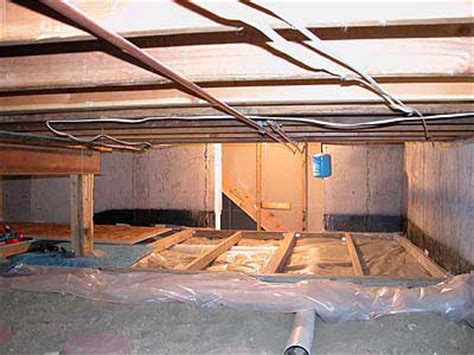 what is a crawl space basement quot quot sequence of putting a floor in your basement
