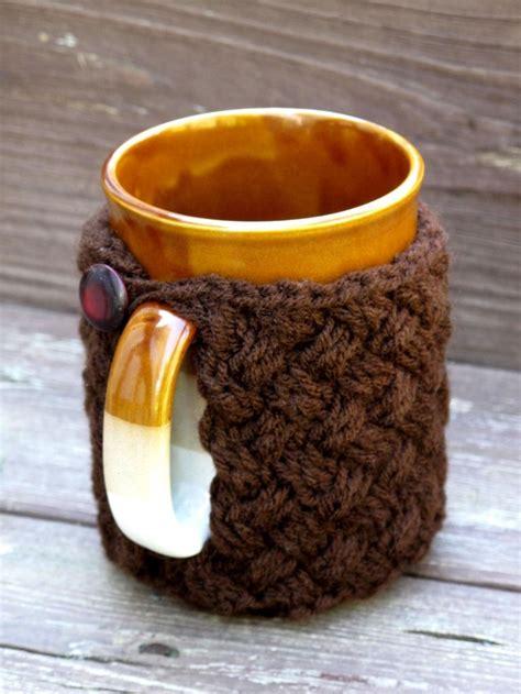 coffee mug cozy knit pattern 1000 ideas about mug cozy pattern on coffee
