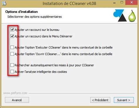 comment mettre ccleaner sur le bureau