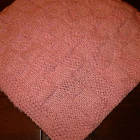 knit seed stitch baby blanket the world s catalog of ideas
