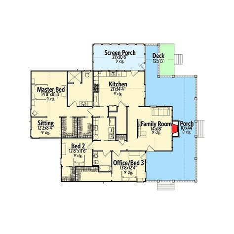one story floor plans with wrap around porch one story house plans with wrap around porch one story 4