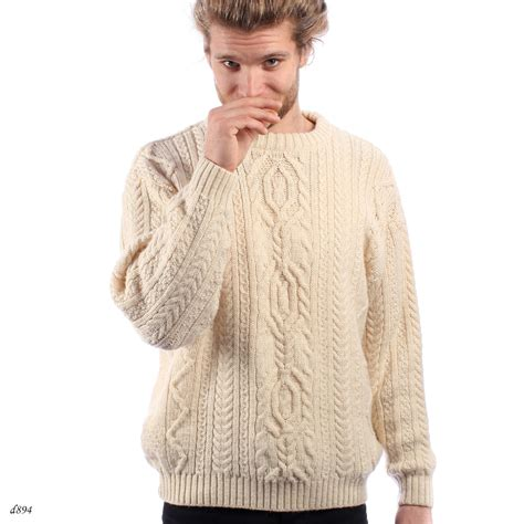 mens knitted sweater fisherman wool sweater mens knit sweater cable knit