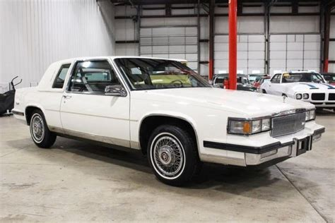 1985 Cadillac Coupe by 1985 Cadillac Coupe 40377 White Coupe 4 1l