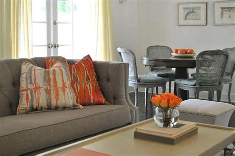 living room sofa pillows orange pillows for sofa photos hgtv thesofa