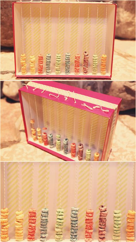 shoe box craft projects shoe box abacus ted s