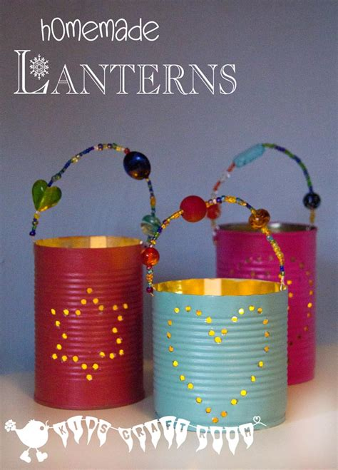 crafts for to make as gifts gifts tin can lanterns craft room