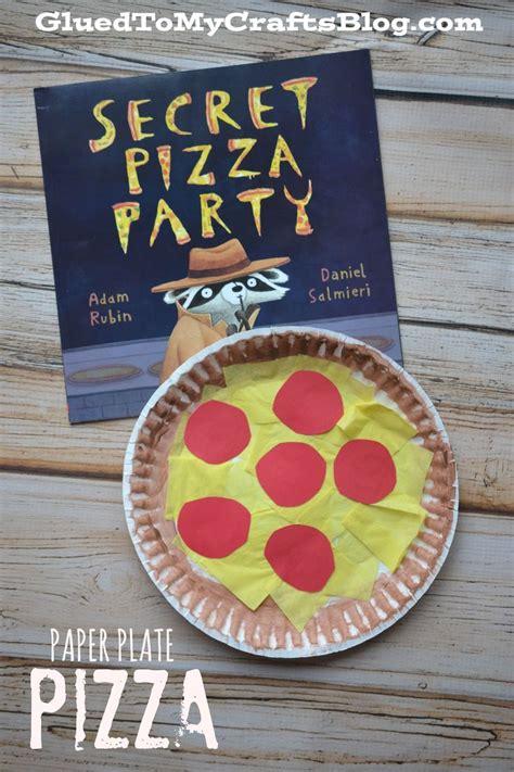 paper plate food crafts best 25 pizza craft ideas on preschool food