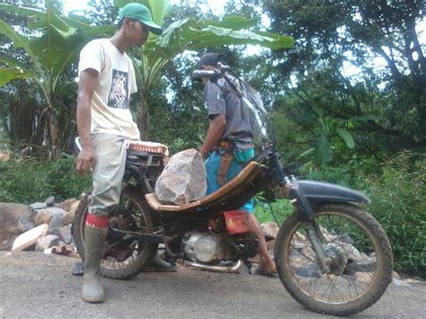 Modifikasi Motor Bebek by 81 Modifikasi Motor Bebek Pake Stang Trail Modifikasi Trail