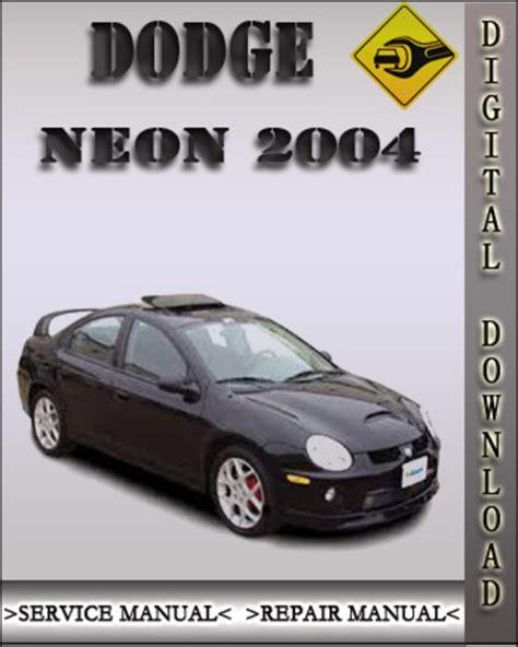 car repair manuals online pdf 1996 dodge neon regenerative braking dodge neon 2000 factory service repair manuals pdf download autos post
