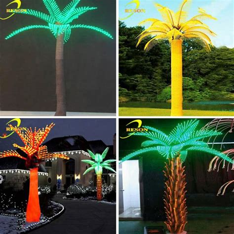 palm tree with lights for sale outdoor lights led artificial palm tree coconut palm tree