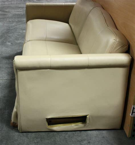 used rv sleeper sofa rv furniture used rv ultra leather knife sleeper sofa