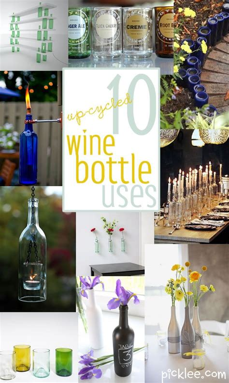 craft projects with wine bottles bottle crafts picmia