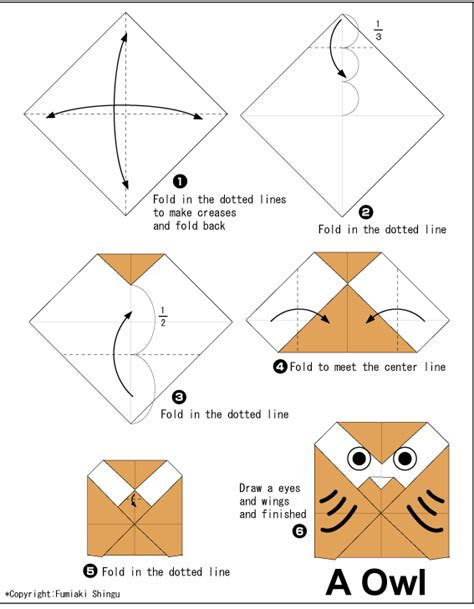 how to make origami easy owl easy origami for