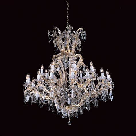 strass chandeliers impex cp04424 24 1 strass 25 light chandelier