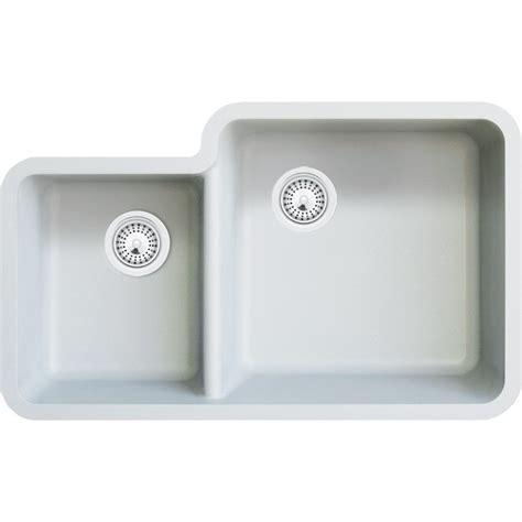white composite kitchen sinks white quartz composite 40 60 bowl undermount
