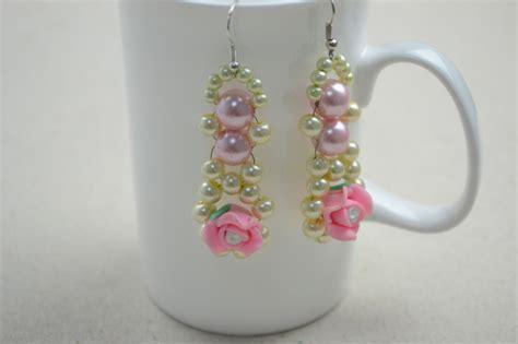 beaded earrings diy diy beaded earrings pearl and earring diy 183 how to