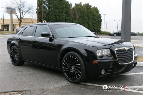 2005 Chrysler 300 Tire Size by Chrysler 300 With 22in Lexani Wraith Wheels Exclusively