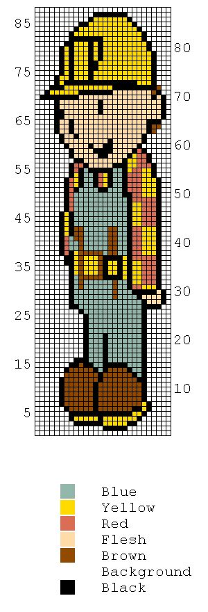 bob the builder knitting pattern free knitting charts bob the builder and his friends
