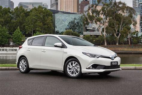 Toyota Corolla by Toyota Corolla Hybrid To Go On Sale In Australia Mid 2016