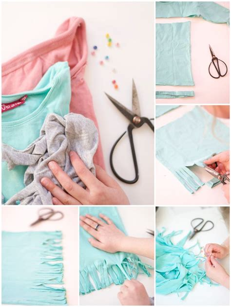 5 minute crafts for bookhoucraftprojects project 184 diy summer fringe scarf