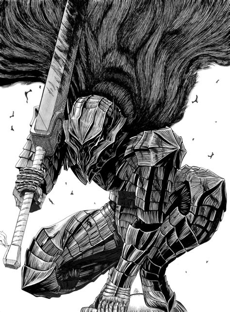 poster knight for dark souls 3 has yet another berserk