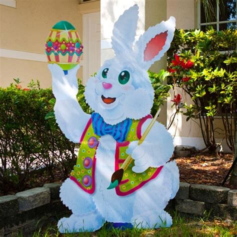 how to make outdoor decorations 40 outdoor easter decorations ideas to make