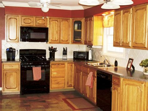kitchen ideas with oak cabinets kitchen kitchen color ideas with oak cabinets and black