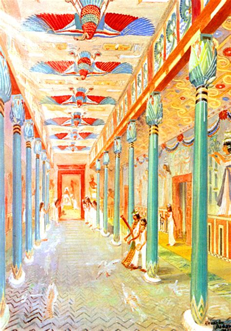 Ancient Egyptian Wall Murals palaces