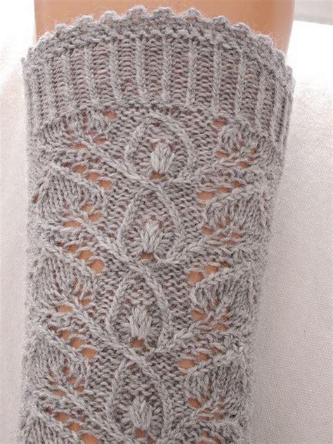 revelry knitting beautiful knitting german lace sock pattern from