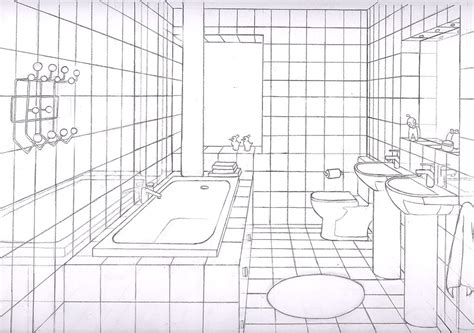bathroom drawing bathroom 1 point by liquidrice on deviantart